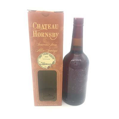 Bottle of Chateau Hornsby N.V. The Last Ghan 1980 Tawny Port 750mL - Missing Label (In Box)