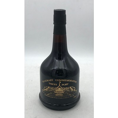 Bottle of Flagmast Commemorative 1987 Tawny Port