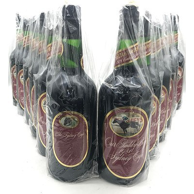 Case of 12x St Hallett's 1978 'Our Paddy Boy 1981 Sydney Cup' Vintage Port