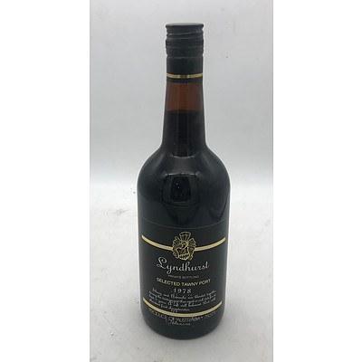 Bottle of Lyndhurst 1978 Selected Tawny Port