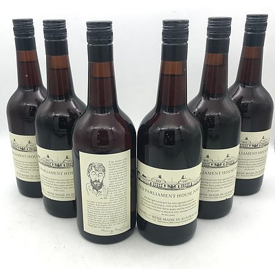 Case of 6x Hardy's N.V. Old Parliament House Port