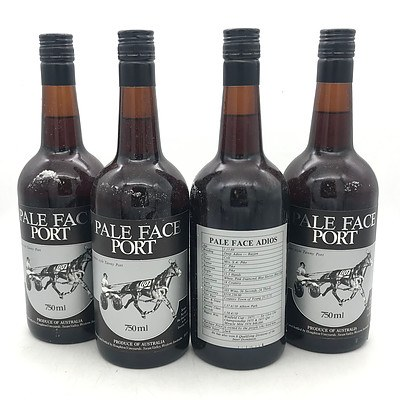 Case of 12x Houghton N.V. Pale Face Port Classic Style Tawny Port