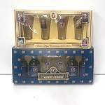 Foster's Melbourne Cup 1986 Commemorative Gift Box & Foster's Lager Centenary 1988 Glass Set