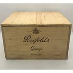 Unopened Case of 6x Penfolds 1989 Grange Hermitage Bin 95 - 750mL