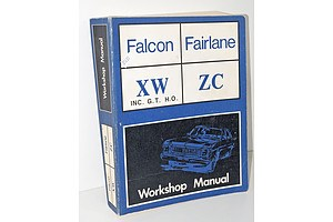 Falcon and Fairlane Workshop Manuel