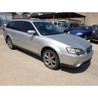 7/2006 Subaru Outback 2.5i Premium MY06 4d Wagon Silver 2.5L