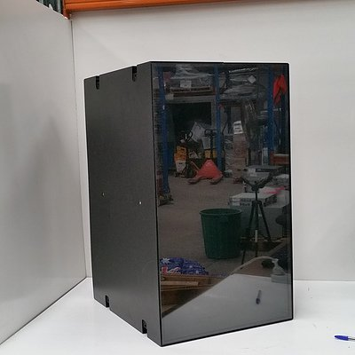 MT320 Black Equipment Case With Screen On Front Panel