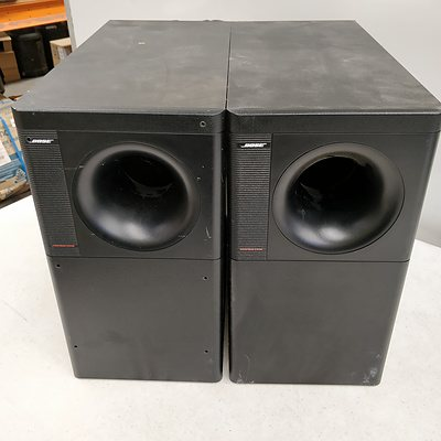 Bose - Acoustimass 6 Series II - Subwoofer - Lot Of 2