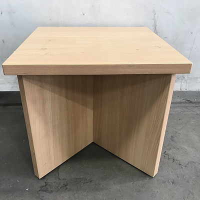 Veneer Occasional Table