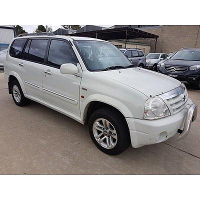 7/2003 Suzuki XL-7 Classic (4x4) JA627 4d Wagon White 2.7L