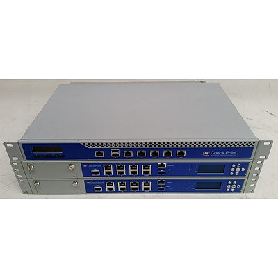 CheckPoint S-10 & P-210 Network Security Appliances - Lot of Three