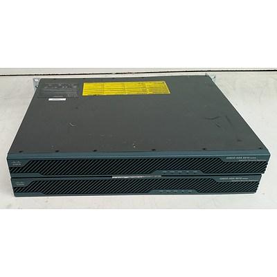Cisco (ASA5510 V06) ASA 5510 Adaptive Security Appliance - Lot of Two