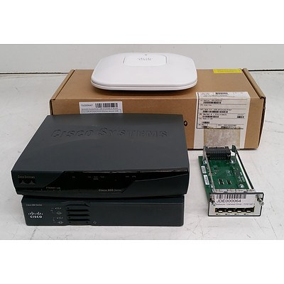 Cisco Assorted Routers, Access Points & Modules