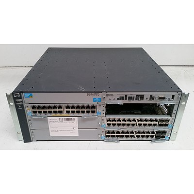 HP (J8697A) 5406zl Networking Chassis