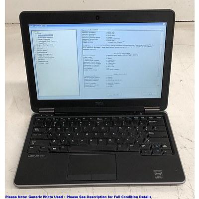 Dell Latitude E7240 12.5-Inch HD Intel Core i5 (4300U) 1.90GHz CPU Laptop