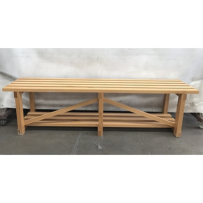 Timber Outdoor Bench