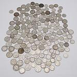 71 Australian Sixpence 1910 - 1963 and 80 Australian Threepence 1912-1964