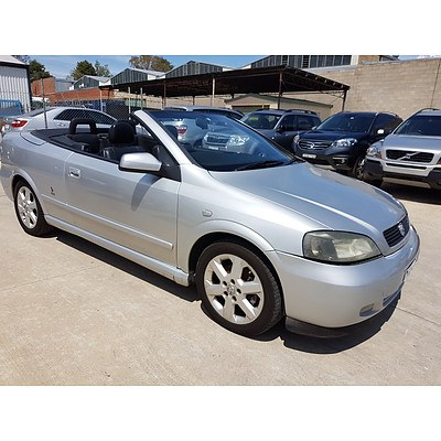 4/2004 Holden Astra Convertible TS 2d Convertible Silver 2.2L