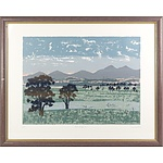 David Miles (1945-) Brindabella, Screenprint Edition AP (Artist's Proof)