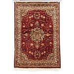 Persian Hand Knotted Wool Pile Rug