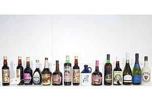 Quantity of 15 Vintage Bottles of Alcohol Including Dr Jurds Jungle Juice, Mcwilliams Cherry Cocktail, Lindemans Shiraz Cabernet 1987 and More