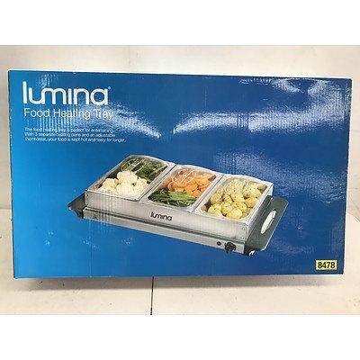 Lumina Food Heating Tray