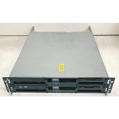 Cisco 1112 Secure Access Control Server - Lot of Two
