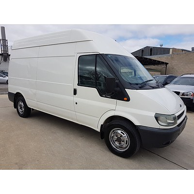 3/2006 Ford Transit  HIGH ROOF VJ Van White 2.4L