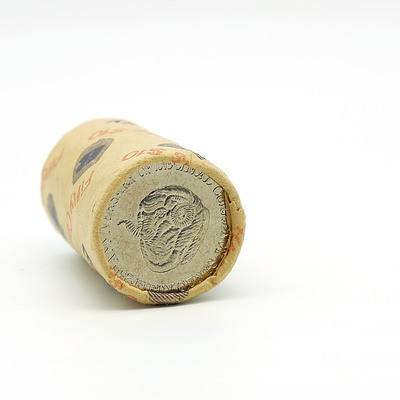 RAM 1991 25th Anniversary of Decimal Currency 50 Cent Roll
