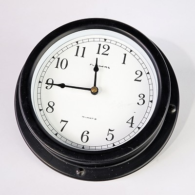 Flinders Battery Wall Clock
