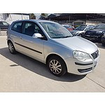 5/2006 Volkswagen Polo CLUB 9N MY06 UPGRADE 3d Hatchback Silver 1.4L
