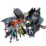 Large Group of Kenner and Other Batman Figures and Accessories,