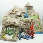 Vivid Toys Thunderbirds Interactive Tracey Island Set