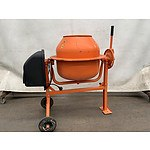 Shogun Electric Motorised Mini Cement / Concrete Mixer