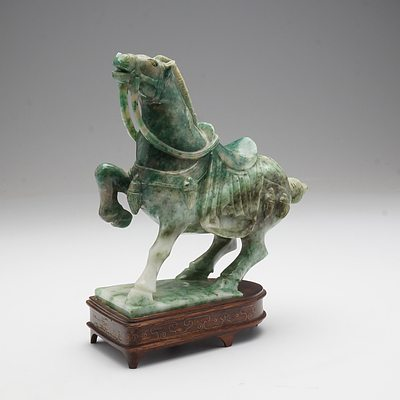 Chinese Soapstone Figure of a Horse