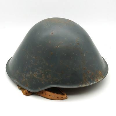 East German M56-76 Helmet, with Later Liner