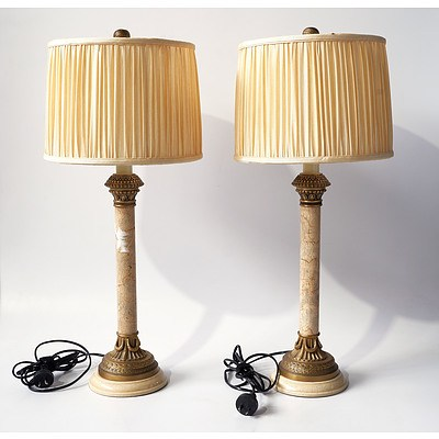 A Pair of Contemporary Bretnall Table Lamps