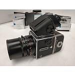 HASSELBLAD 503CX Medium Format Camera & Carl Zeiss Distagon 50mm F4 lens & Spare Film Back