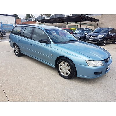 10/2005 Holden Commodore Executive VZ 4d Wagon Blue 3.6L