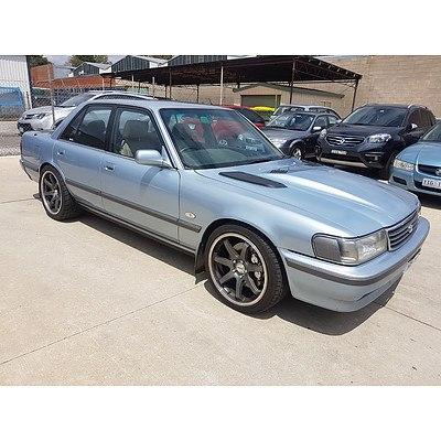 5/1991 Toyota Cressida 4d Sedan Blue with 5.7L LS1 Conversion