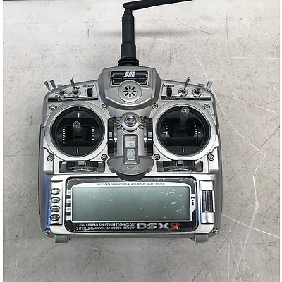 JR Helicopter Professional Remote