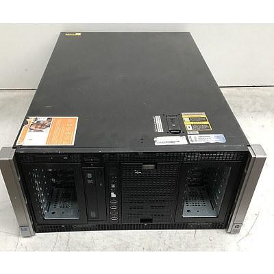 HP ProLiant ML350p Gen8 Dual Hexa-Core Xeon (E5-2630 0) @ 2.30GHz Server
