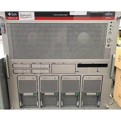 Sun Oracle SPARC Enterprise M5000 SPARC CPU Server
