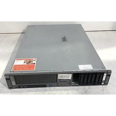 HP ProLiant DL380 G5 Dual Quad-Core Xeon (X5460) 3.16GHz 2 RU Server