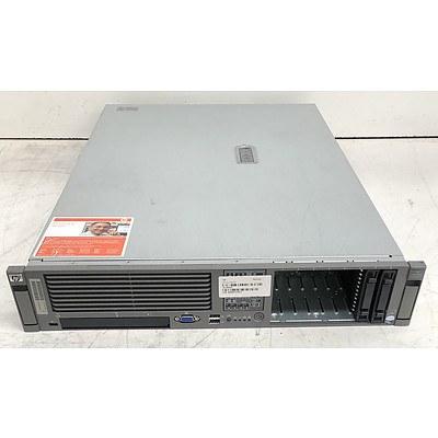 HP ProLiant DL380 G5 Dual Quad-Core Xeon (E5405) 2.00GHz 2 RU Server