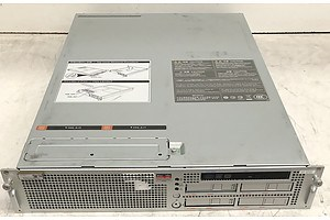 Sun Oracle SPARC Enterprise M3000 SPARC64 CPU 2 RU Server