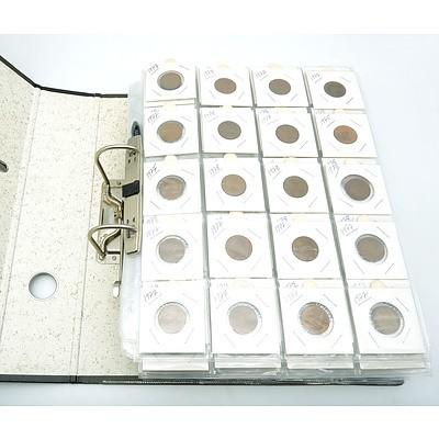 Approximately 460 Australian 2 Cent Pieces 1967-1983