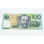 1996 $100 Test Note, AN96 957769