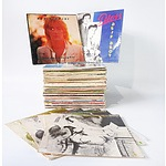 A Quantity of Approximately 75 Vinyl Records including Rod Stewart, Dion and Volumes 4.5.7 and 9 of Schubert Piano Music
