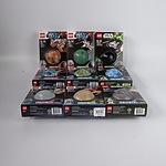 Nine Lego Star Wars Planets Series 1-3